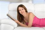 Сlipart Women Sofa Reading Living Room Book   BillionPhotos