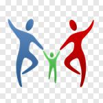 Сlipart Family Parent Child Parents Togetherness vector cut out BillionPhotos