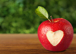 Сlipart Heart Shape on Apple Love Healthy Eating Healthy Lifestyle Food   BillionPhotos
