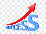 Сlipart Success Marketing Growth Business Improvement 3d cut out BillionPhotos