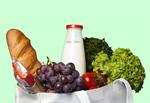 Сlipart Healthy Eating Groceries Food Shopping Paper Bag   BillionPhotos