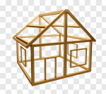 Сlipart Construction Frame House Construction Building Activity Wood 3d cut out BillionPhotos