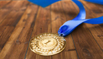 Сlipart Medal Award Winning Trophy Gold Medal Ribbon   BillionPhotos