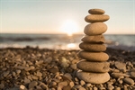 Сlipart Stone Rock Balance Beach Zen-like photo  BillionPhotos