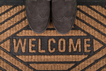 Сlipart Greeting Welcome Sign Doormat Visit Operation Welcome Home photo  BillionPhotos