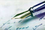 Сlipart Signature with a fountain pen Pen Writing Letter Signature   BillionPhotos