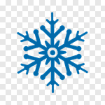 Сlipart Snowflake Snow Star Shape Winter Ice vector cut out ...