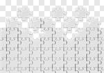 Сlipart Puzzle Jigsaw Puzzle White Solution Blank 3d cut out BillionPhotos