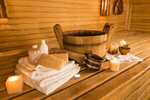 Сlipart sauna room sweat steam interior photo  BillionPhotos