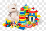 Сlipart toy collection soft preschool closeup photo cut out BillionPhotos