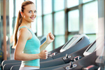 Сlipart gym center running woman physical photo  BillionPhotos