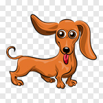 Сlipart Dog Cartoon Animal Puppy Vector vector cut out BillionPhotos