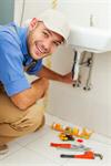 Сlipart plumber worker fix sink handsome photo  BillionPhotos