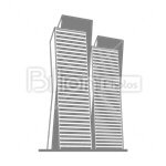 Сlipart House skyscraper Real Estate Residential Structure Built Structure vector icon cut out BillionPhotos