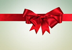 Сlipart Christmas Ribbon Bow Gift Birthday   BillionPhotos