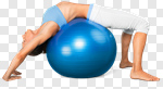 Сlipart Fitness Ball Gym Exercising Sport Individuality photo cut out BillionPhotos