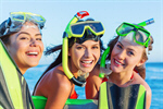 Сlipart snorkeling snorkel summer women beach photo  BillionPhotos