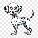 Сlipart Dog Cartoon Animal Puppy Vector vector cut out BillionPhotos