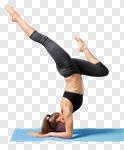 Сlipart yoga woman pose coach health photo cut out BillionPhotos