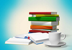 Сlipart Book Education Library Stack Learning   BillionPhotos