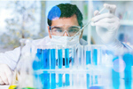Сlipart Man with tube lab researcher research scientist   BillionPhotos