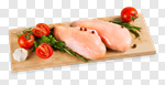 Сlipart chicken breast raw fillet boneless photo cut out BillionPhotos