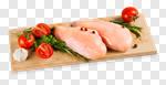 Сlipart chicken breast raw fillet boneless photo cut out BillionPhotos