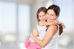 Сlipart mother hug child isolated two   BillionPhotos